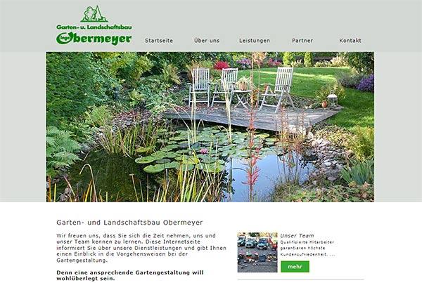 Garten und landschaftsbau visitenkarten  Webprojekt von vh-concept: