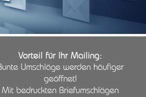 Angebot: Bedruckte Briefumschläge