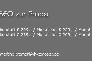 Angebot: Suchmaschinenoptimierung / SEO