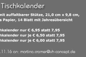 Angebot: Tischkalender
