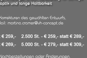 Angebot: Visitenkarten