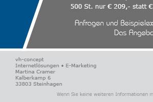 Angebot: Lesezeichen mit Ihrem Logo